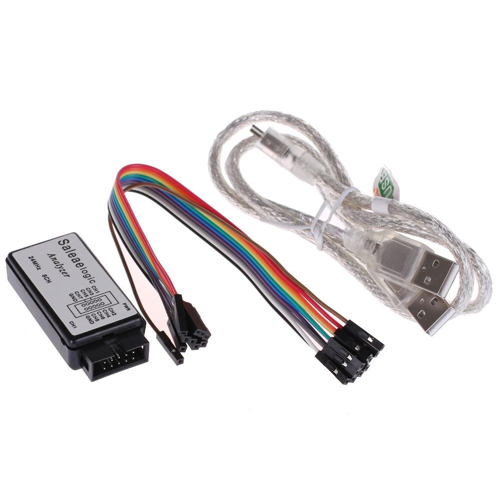 2015-New-1-Set-USB-24M-8CH-24MHz-NEW-1-1-16-Logic-Analyzer-Single-chip-05